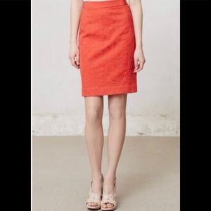 Anthropologie Vanessa Virginia Size 4 Pencil Skirt